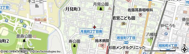 スナックア・ショック周辺の地図
