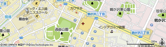 ロバール周辺の地図