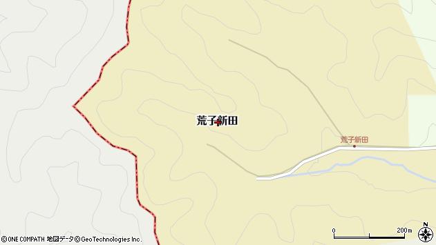 〒669-2804 兵庫県丹波篠山市荒子新田の地図
