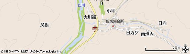 愛知県豊田市下佐切町(平七垣内)周辺の地図