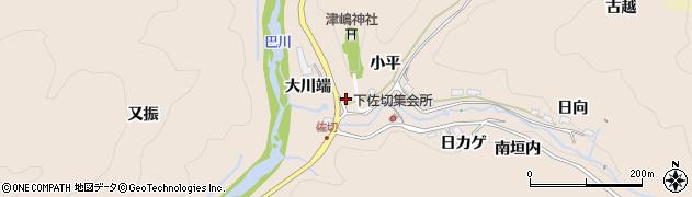 愛知県豊田市下佐切町(大川端)周辺の地図