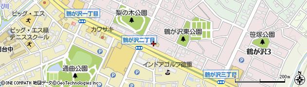 マリノ緑店周辺の地図