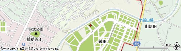 愛知県名古屋市緑区鳴海町(鏡田)周辺の地図