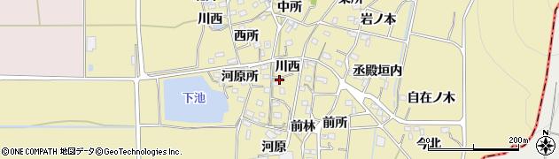 京都府南丹市八木町氷所(川西)周辺の地図