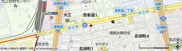 パンサー周辺の地図
