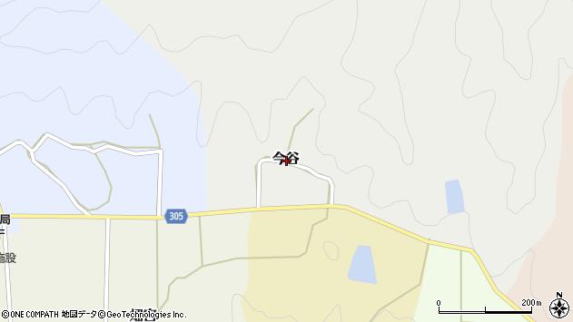 〒669-2304 兵庫県丹波篠山市今谷の地図