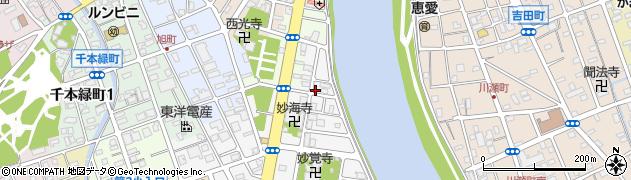 静岡県沼津市本(下河原町)周辺の地図