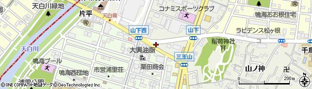 ランブル周辺の地図