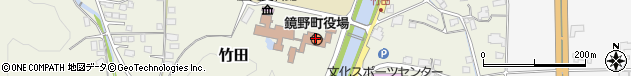 岡山県苫田郡鏡野町周辺の地図