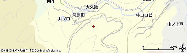 愛知県豊田市国谷町(河原田)周辺の地図