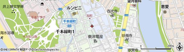 静岡県沼津市旭町周辺の地図