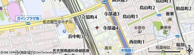 愛知県名古屋市南区立脇町周辺の地図
