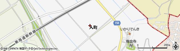 滋賀県野洲市入町周辺の地図