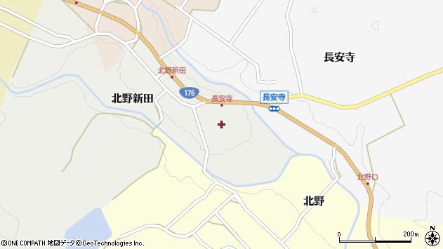 〒669-2825 兵庫県丹波篠山市北野新田の地図