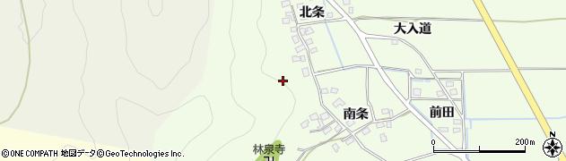 京都府南丹市八木町野条周辺の地図