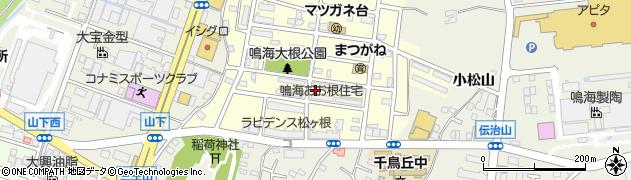 鳴海おお根住宅周辺の地図