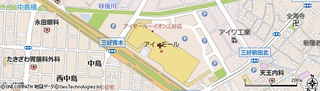 ケンタッキーフライドチキンアイ・モール三好店周辺の地図