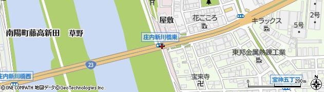 愛知県名古屋市港区宝神町(葭野)周辺の地図