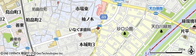 丸忠寿司丸忠 ヤマダイ笠寺店周辺の地図