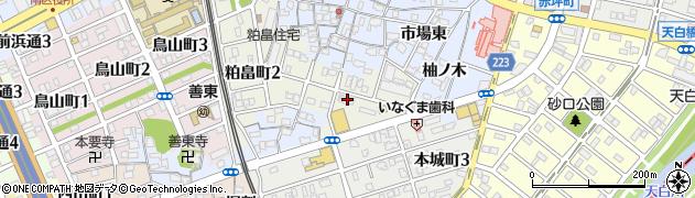 愛知県名古屋市南区粕畠町3丁目17周辺の地図