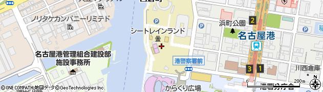 愛知県名古屋市港区西倉町周辺の地図
