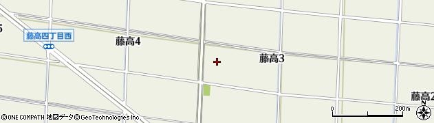 愛知県名古屋市港区藤高周辺の地図