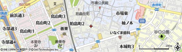 愛知県名古屋市南区粕畠町周辺の地図