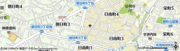 とんかつ仏蘭西亭周辺の地図