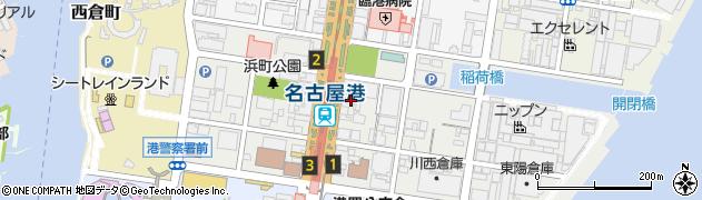 浜鮨周辺の地図