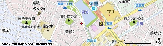 愛知県名古屋市緑区乗鞍周辺の地図