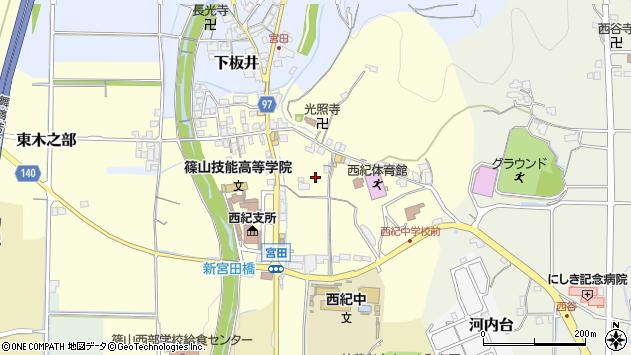 〒669-2734 兵庫県丹波篠山市宮田の地図