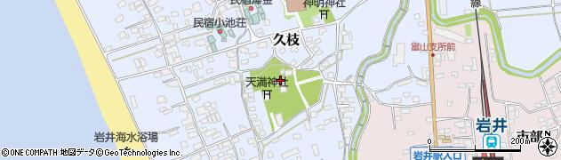 蓮台寺周辺の地図