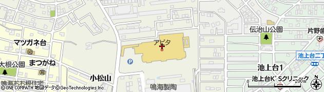 寿司御殿鳴海店周辺の地図