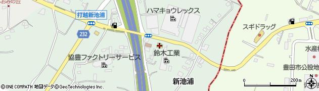 一心亭周辺の地図