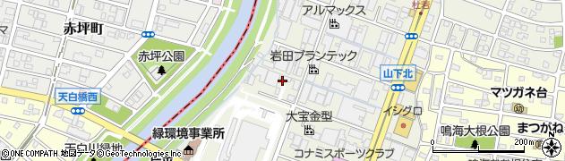 愛知県名古屋市緑区鳴海町(天白)周辺の地図