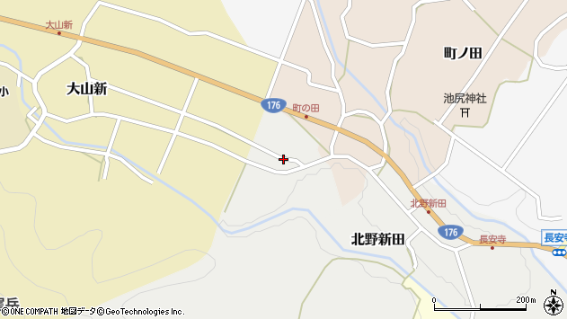 〒669-2826 兵庫県丹波篠山市徳永の地図