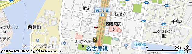 港キリン周辺の地図