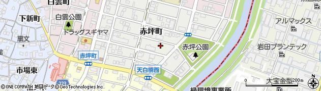 愛知県名古屋市南区赤坪町180周辺の地図