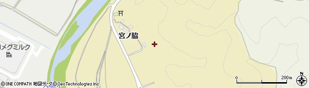 京都府南丹市八木町山室(宮ノ脇)周辺の地図