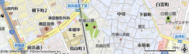 愛知県名古屋市南区笠寺町(天満)周辺の地図