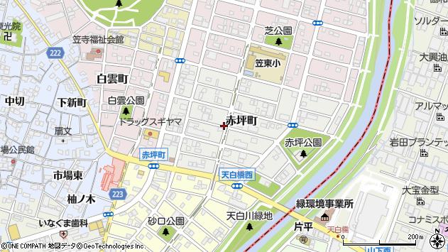 〒457-0024 愛知県名古屋市南区赤坪町の地図