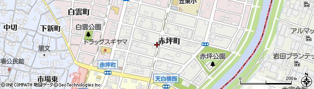 愛知県名古屋市南区赤坪町周辺の地図