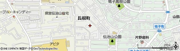 愛知県名古屋市緑区長根町周辺の地図
