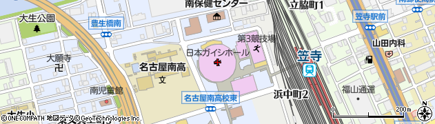 東山ガーデン株式会社サン笠寺店周辺の地図
