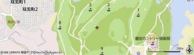 愛知県豊田市岩滝町(コンジ)周辺の地図