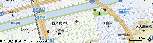 鯛本家周辺の地図