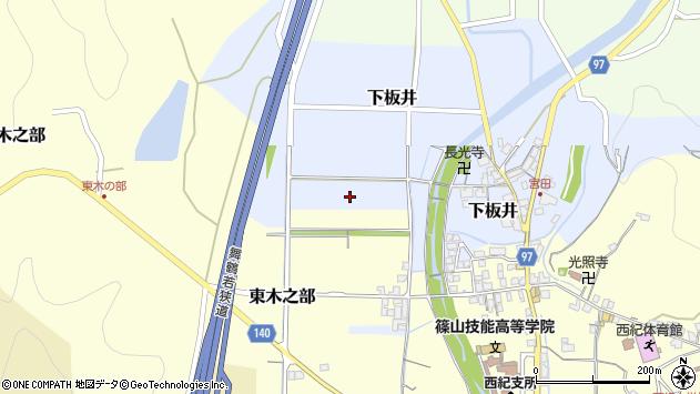 〒669-2733 兵庫県丹波篠山市下板井の地図