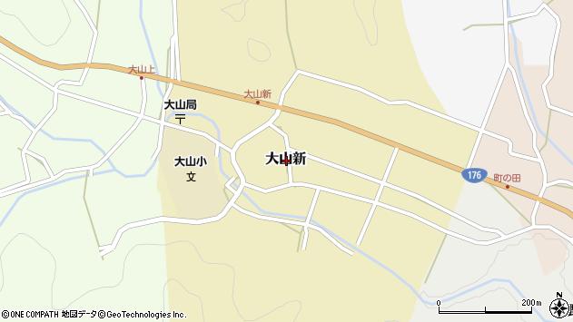 〒669-2827 兵庫県丹波篠山市大山新の地図