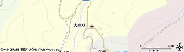 愛知県豊田市国谷町(鳥飼場)周辺の地図
