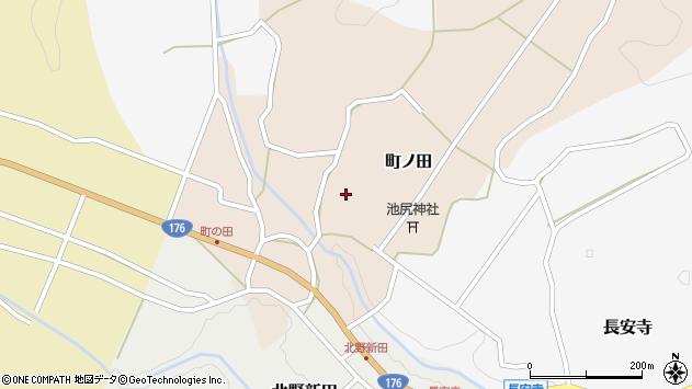 〒669-2815 兵庫県丹波篠山市町ノ田の地図